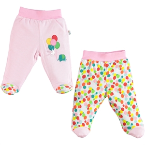 Babycool Baby girls 2-Oh single child 3-12 months baby booty Pink