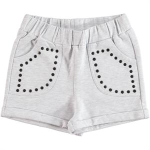 Cvl Age 6-9 Boy Girl Gray Shorts