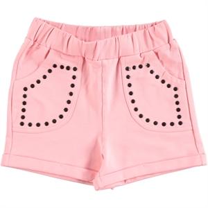 Cvl Powder Pink Shorts Boy Girl Age 6-9