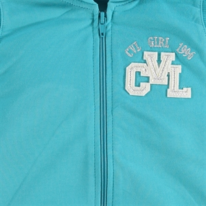 Cvl Mint Green Hooded Vest Girl Age 6-9 (2)