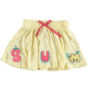 Cvl Girl Yellow Skirt 2-5 Years