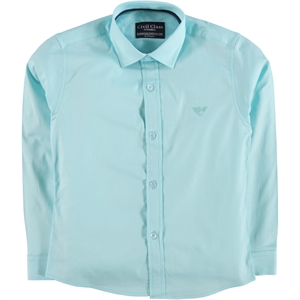 Civil Class Age 6-9 Boy Shirt Mint Green