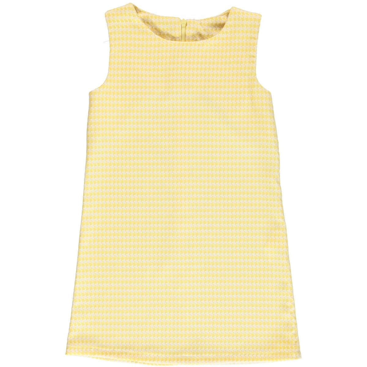 a0eca65d2019c Missiva Kız Çocuk Elbise 6-9 Yaş Sarı