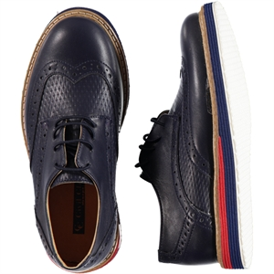 Civil Class Navy Blue Shoes Boy 31-35 Number