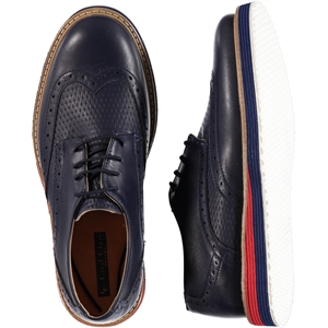 Civil Class Navy Blue Boy Shoes 36-40 Number