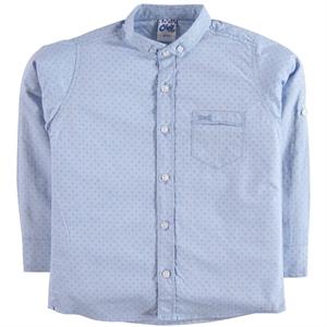 Civil Boys Erkek Çocuk Gömlek 6-9 Yaş Mavi