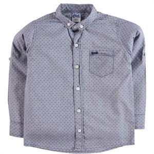 Civil Boys Erkek Çocuk Gömlek 6-9 Yaş Lacivert