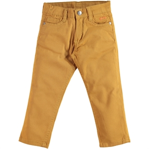 Civil Boys Mustard Linen Pants Boy Age 2-5