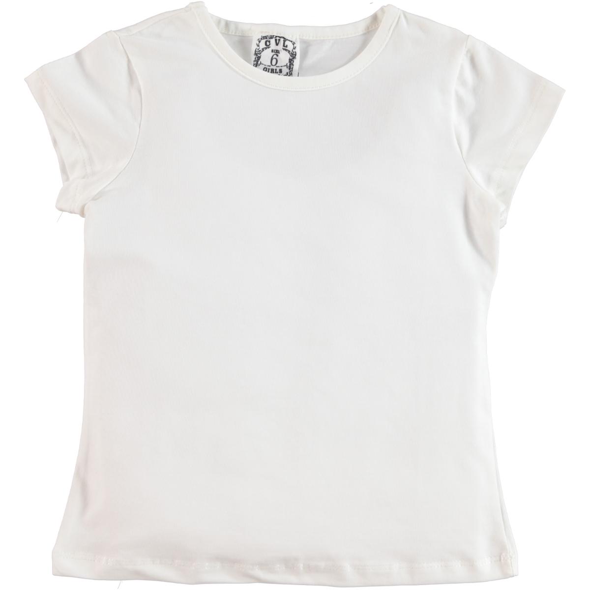 Cvl Girl Kids T-Shirt Ecru Age 10-13