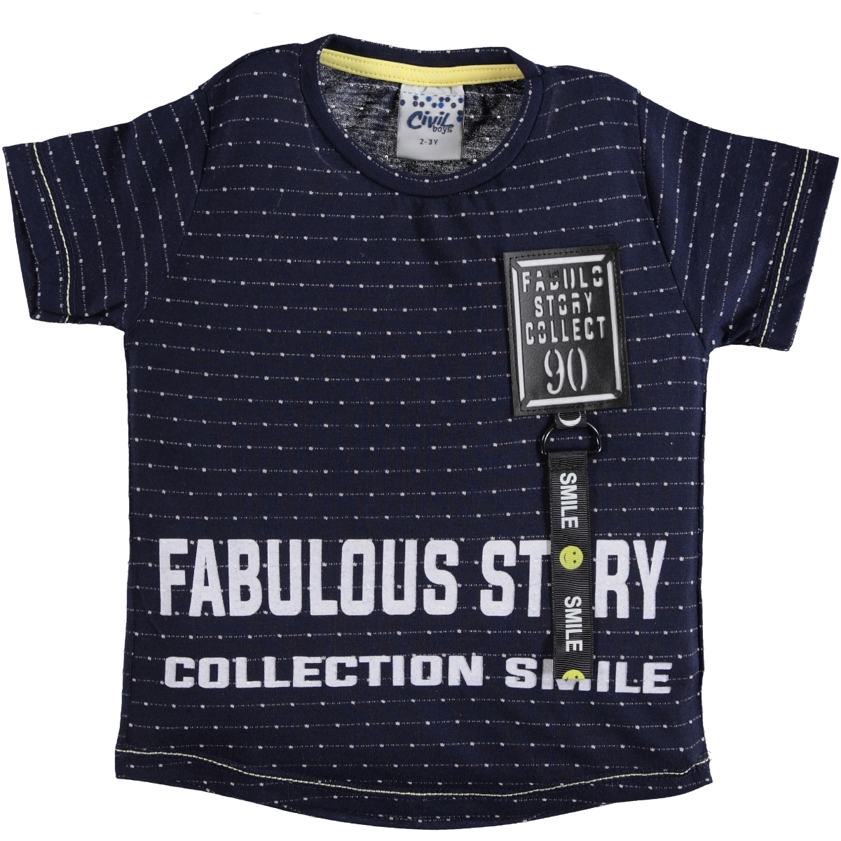 Civil Boys Boy T-Shirt Navy Blue Age 2-5