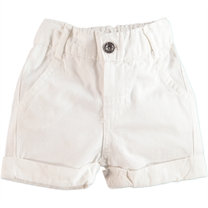 Civil Baby 6-18 Months Baby Boy White Shorts
