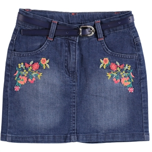 Civil Girls Girl Blue Denim Skirt Age 6-9