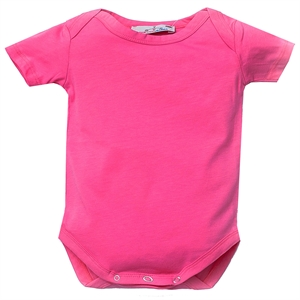 Shecco Babba Baby Girl Short-Sleeved Red Shirt Fuchsia