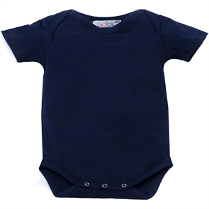 Shecco Babba Baby Boy Red Short Sleeve T-Shirt-Navy Blue
