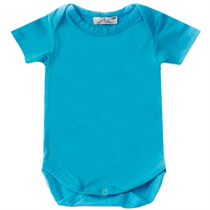 Shecco Babba Baby Boy Red Short Sleeve T-Shirt Turquoise