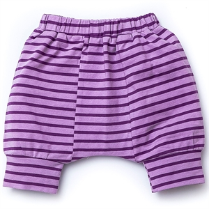 Shecco Babba Capri Harem Pants Baby Girl Lila Purple Bottom Only
