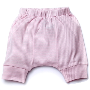 Shecco Babba Baby Girl Capri Harem Pants Only Sub-Pink-White