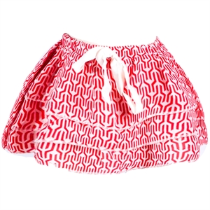 Shecco Babba Layers Baby Girl Skirt Red White Bows