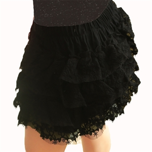 Shecco Babba Baby Girl Black Lace Layers Of The Skirt