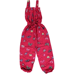 Civil Girls Fuchsia Overalls Boy Girl Age 6-9