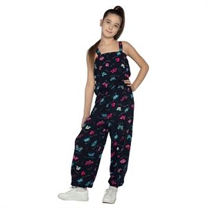 Civil Girls Navy Blue Overalls Boy Girl Age 6-9