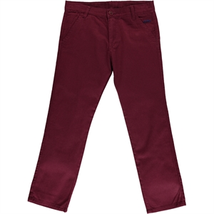 Civil Boys Boy Pants The Ages Of 10-13 Burgundy