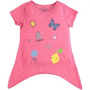 Cvl Girl T-Shirt Age 6-9 Fuchsia