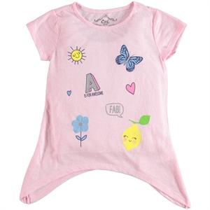 Cvl Girl T-Shirt Pink, Age 6-9