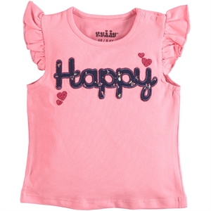 Kujju Baby Girl T-Shirt Light Tan 6-18 Months