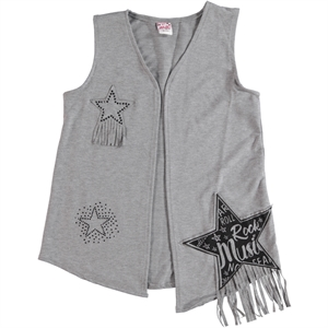 Civil Girls Girl Child Age 10-13 Gray Vest