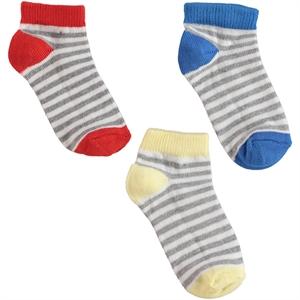 Civil Boys Boy 3-the age of 2-12 grey socks