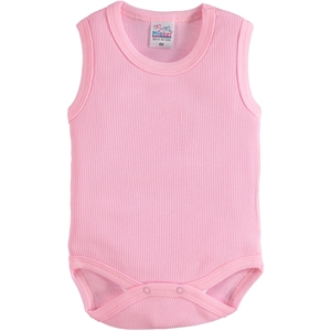 Misket 0-12 Months Pink Bodysuit With Snaps