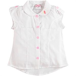 Civil Girls White Shirt Boy Girl Ages 6-9