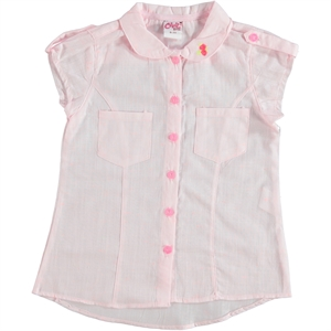 Civil Girls Powder Pink Shirt Boy Girl Age 6-9