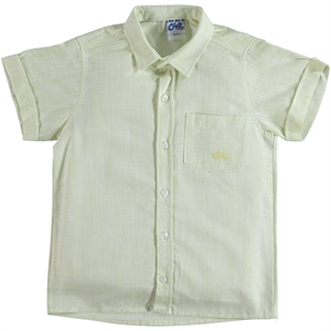 Civil Boys Boy Linen Shirt Yellow The Ages Of 10-13
