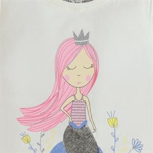 Cvl Girl Kids T-Shirt Age 6-9 Ecru (3)