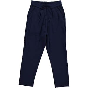 Civil Girls The Boy Girl Navy Blue Baggy Pants 10-13