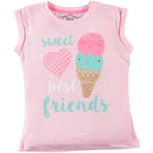 Cvl Girl Kids T-Shirt Pink, Age 6-9