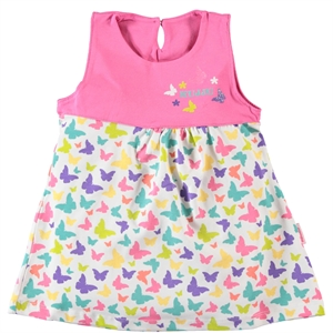 Kujju Baby Girl Clothes 6 To 18 Months, Fuchsia