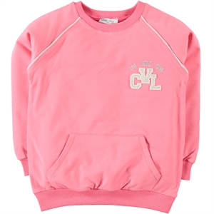 Cvl Pinkish Orange Sweatshirt Kids Girl Age 6-9