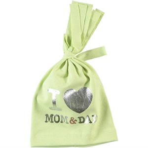 Albimama Yesil Combed Cotton Hat 0-3 Months