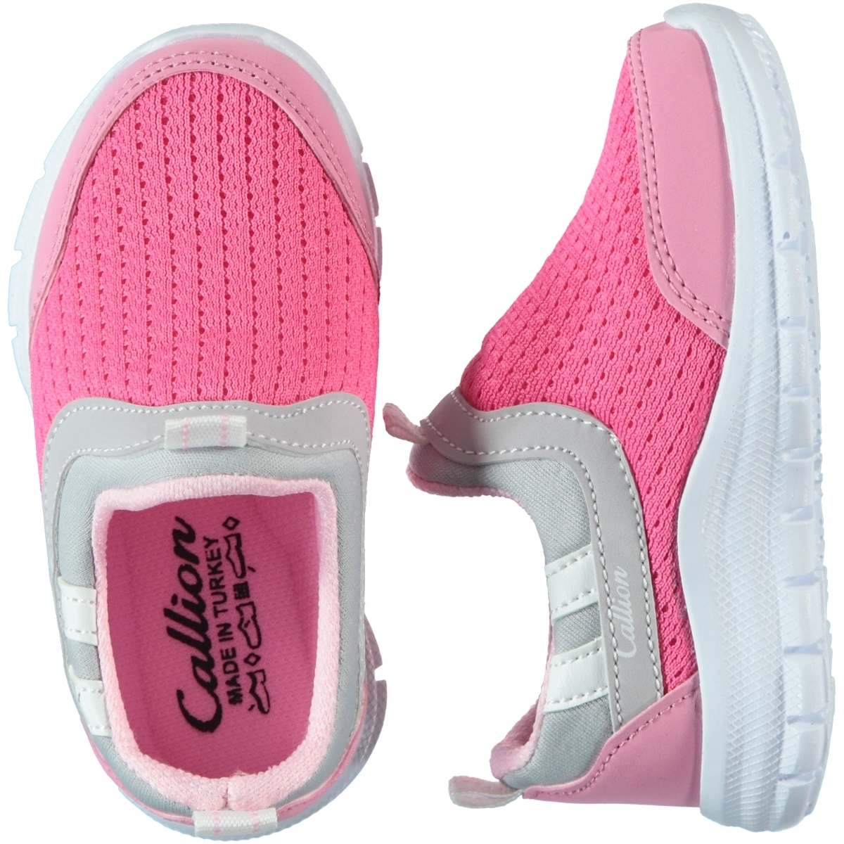 Callion Baby Girl Pink Sneakers 22-25 Number