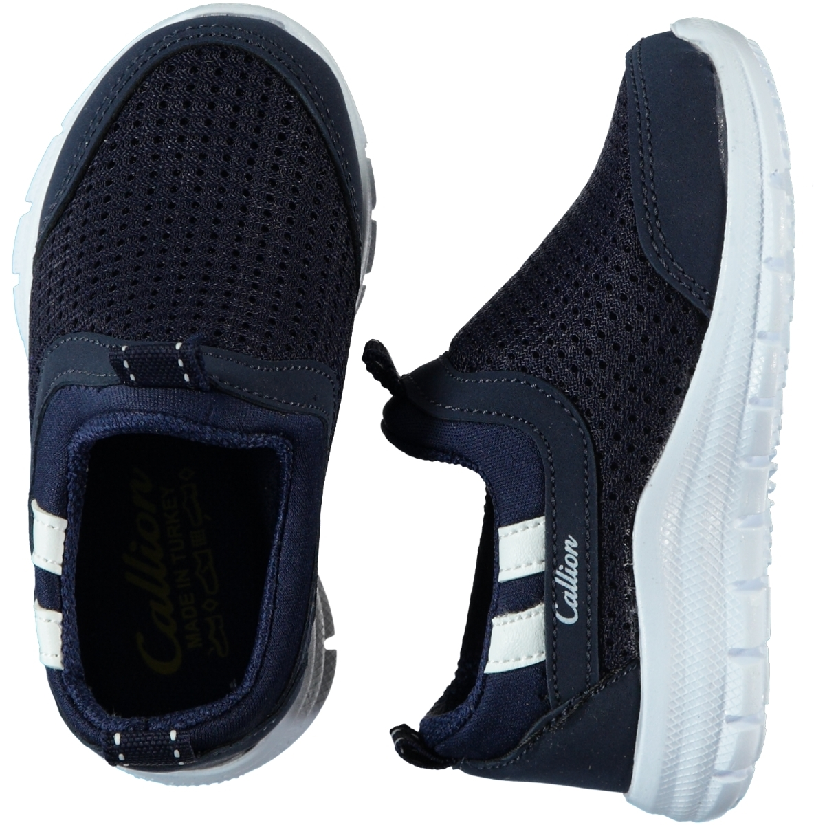 Callion Baby Boy Navy Blue Sneakers 22-25 Number
