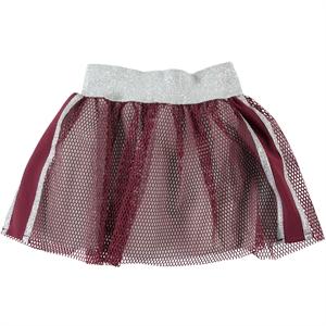 Civil Girls Burgundy Skirt Girl Age 6-9
