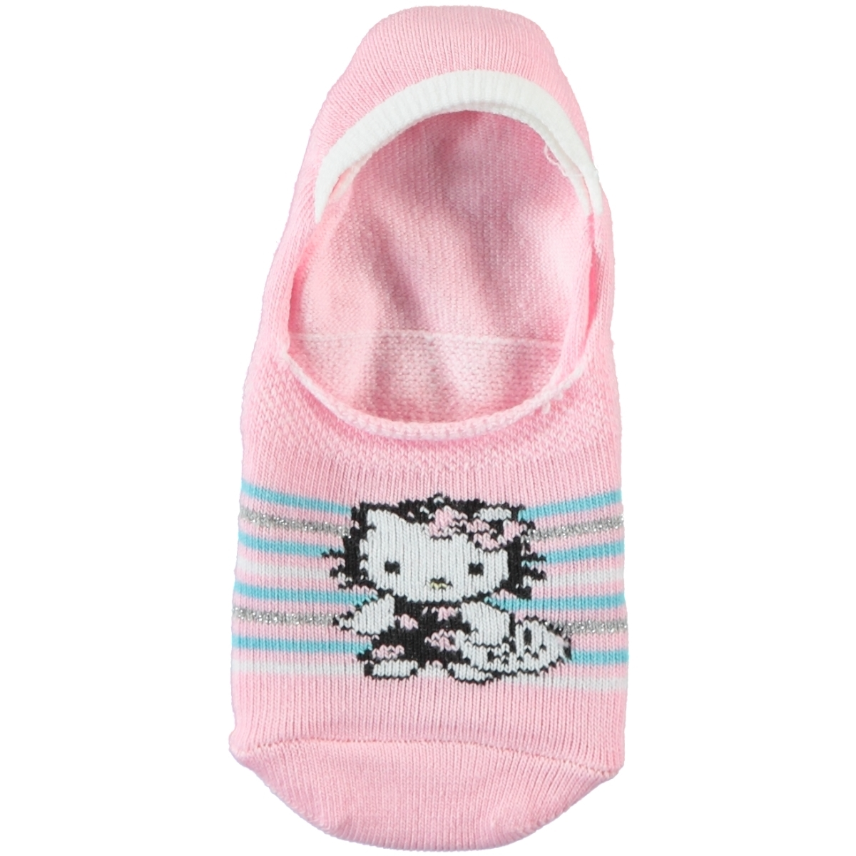 Hello Kitty Pink Socks For Girl Age 5-9