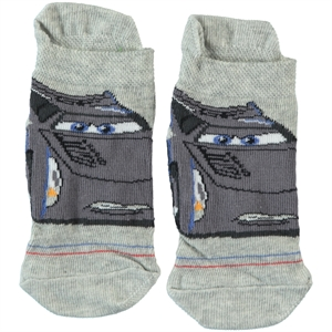Cars Boy Socks Gray Age 3-9