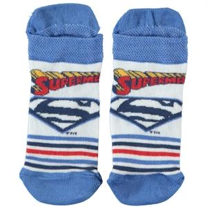 Superman Boy Superman Socks Blue 5-9 Age