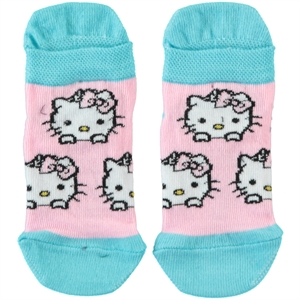 Hello Kitty Turquoise Socks Girl Ages 3-7