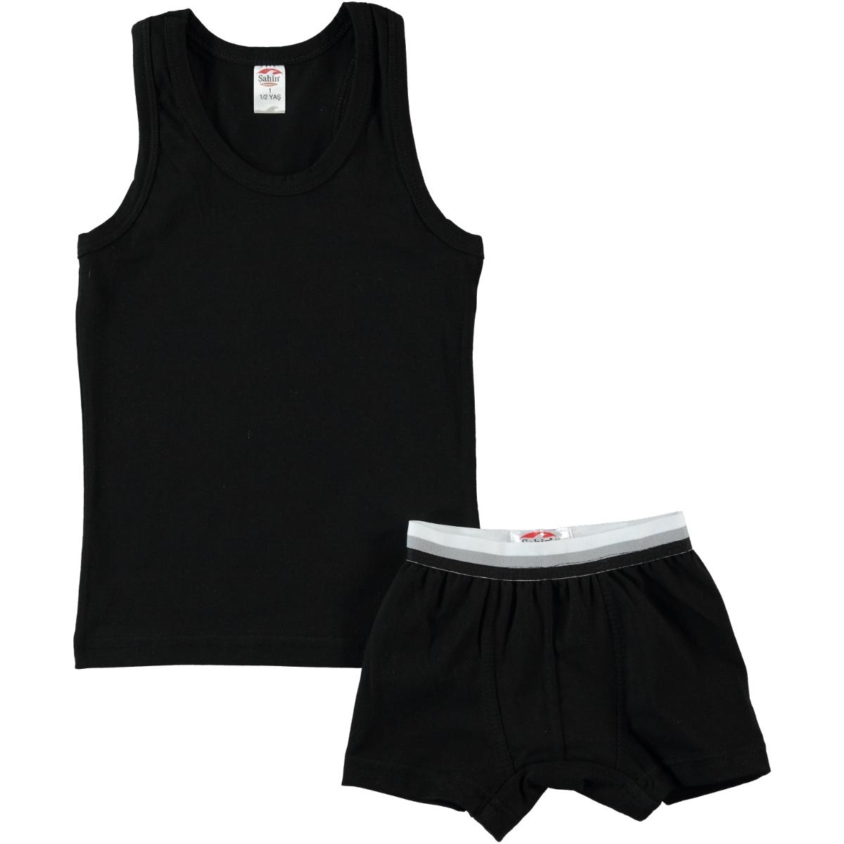Şahin Boy In Black Underwear Combing The 1-9 Age Team