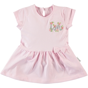 Kujju Baby Girl Dress, Pink, 6-18 Months